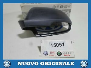 COPERTURA SPECCHIETTO SINISTRO LEFT MIRROR COVER ORIGINAL SKODA SUPERB 2.0 2010