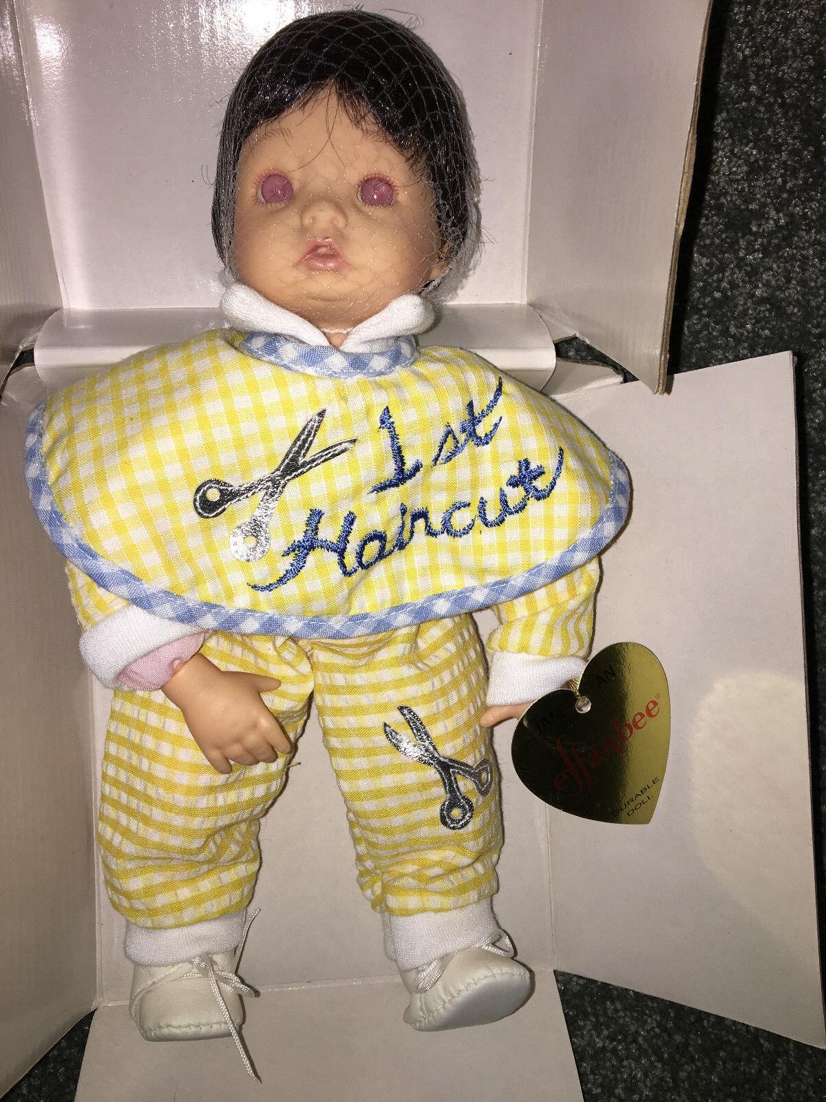 Effanbee Muñeca de Bebé Primera Corte de Pelo Pelo Pelo Kathy Smith Fitzpatrick Colección  bienvenido a elegir