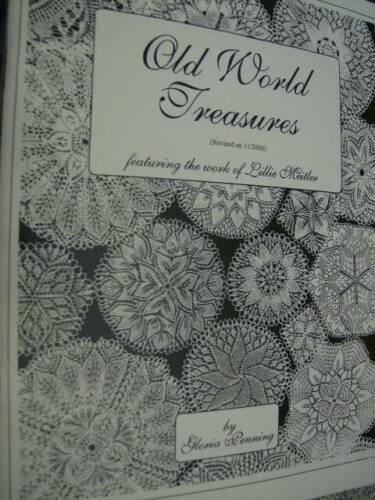 Old World Treasures Lace Knitting Book Work Of Lillie Meitler 2006