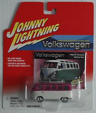 Johnny Lightning – VW Bus T1 Samba weiß/pink Neu/OVP