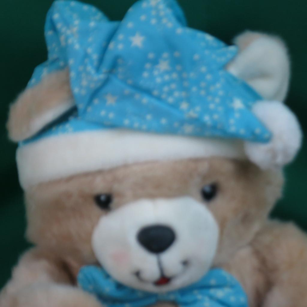 BIG VINTAGE 1992 PEEKABOO TEDDY BEAR HUMPHREY MAGNETIC PAWS PLUSH STUFFED ANIMAL