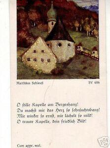 Andachtsbild -- Saint Mathieu Schiestl -- 1935 -- Chapelle --matthäus Schiestl-- 1935 --kapelle- Fr-fr Afficher Le Titre D'origine
