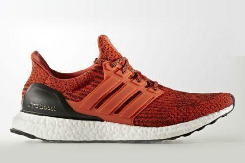 Adidas Ultra Boost 3.0 Energy Red Black. pk. Size 11.5. S80635. nmd pk. Black. 91f643