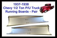 1937 1938 Chevy Gmc Pickup Truck 1/2 Ton & Panel Delivery Steel Running Boards