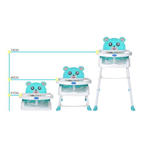 Verstellbar Babystuhl Kinderhochstuhl Hochstuhl Treppenhochstuhl Baby Highchair