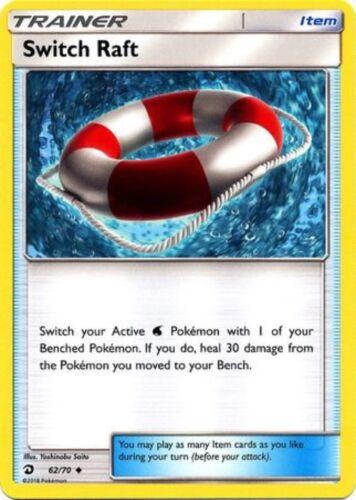 Switch Raft Dragon Majesty 62//70 - Uncommon Trainer