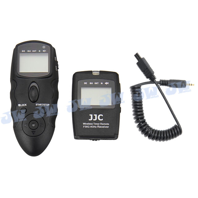 JJC Wireless Timer Remote with Cable For Sony A7S A58 A7R A6000 A5000 A3000 A7