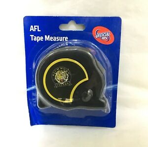 RICHMOND-TIGERS-AFL-OFFICIAL-FOOTY-8m-TAPE-MEASURE-BUILDERS-MEASURING-TAPE