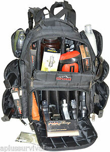 Black Explorer Tactical Range Backpack Gun Pistol