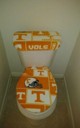 Tennessee Volunteers Square Fleece Toilet Seat and Tank Lid Set