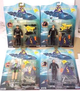 Seaquest Playmates Action Figure Set of 4- MOC-FREE S&H (SQTY-Set-4)
