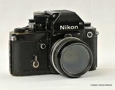 Nikon F2  Black Body with Nikon Nikkor 50mm f/1.8 Lens