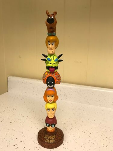 Scooby Doo Groovy Headstackers Tiki Totem Pole 27448 Magnetics Build Your Own