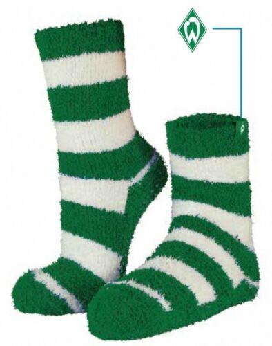 SV Werder Bremen Kuschelsocken Ringel Gr 35-46
