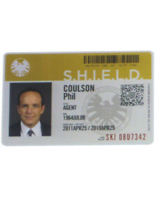2015-Agents-Of-Shield-Phil-Coulson-ID-Card-Prop-Replica-Security-Badge-Season-1