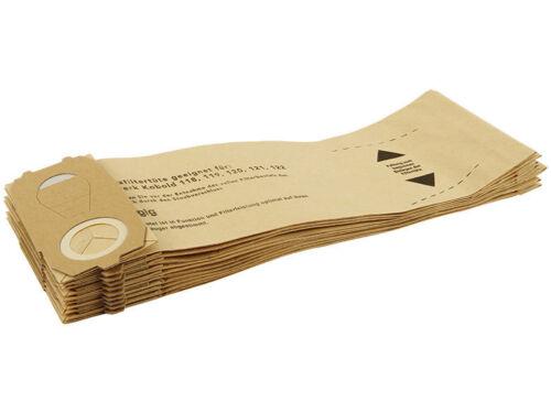 50 Staubsaugerbeutel geeignet für Vorwerk Kobold 118 119 120 121 122