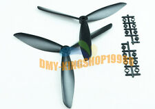 1Pair BLACK FC10x4.5 Clover CW CCW 3-Blade 1045 Propeller Paddle for Multicopter
