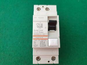 LEGRAND 25 AMP 30mA DOUBLE POLE RCCB RCD 02601-10