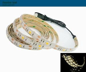 Image Is Loading Led Strip Light 5050 Flex Waterproof 2m 6