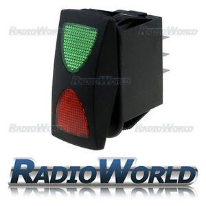 10x MINI-oltre ad ascoltare tutte INTERRUTTORE 1 pin ON//OFF//ON 250v//6a
