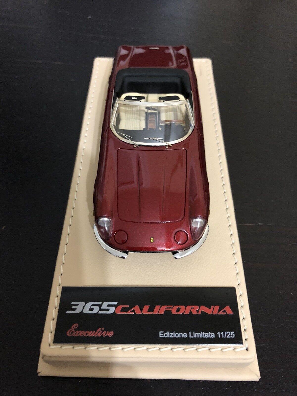 1 43 BBR Deluxe Ferrari 365 California in rot Maranello no MR Feeling43 Bosica