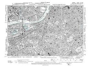 image is loading old map pimlico south lambeth kennington battersea e
