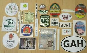 25 BEER STICKER PACK LOT decal craft beer brewing brewery tap handle D