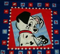 Disney 101 Dalmations Dog Puppy Paw Print Bones Movie Accent Pillow Cover 16