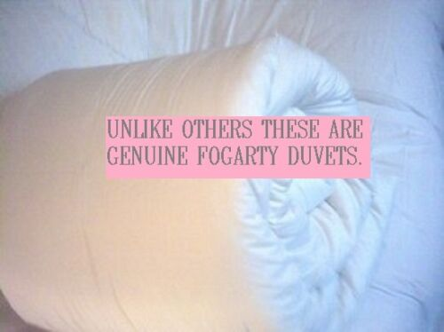 Bedding Heaven Genuine Slight Second Duvets Made By Fogarty All Togs Super King 15 0 Duo