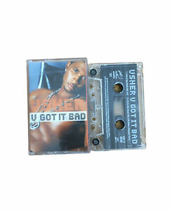 Usher-U-Got-It-Bad-Cassettes-Tape-2001-Tested-And-Working-VERY-RARE-VGC