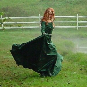 Details about Custom Medieval Dress Gown Kirtle Renaissance SCA