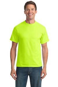 Port-amp-Company-Mens-PC55-T-Shirt-50-50-Cotton-Poly-T-Shirt-NEW