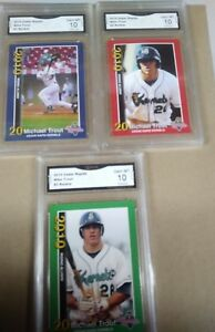 3-Mike-Trout-Rc-2010-Kernels-1-2-3-Rookie-RC-SET-GMA-GEM-MINT-graded-10