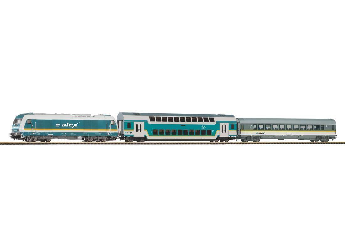 Piko H0 57137 - Starter Set Treno   Alex   Merce Nuova