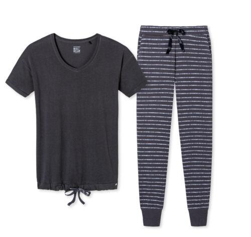 Gr 50 160966 Neu amp;relax Pyjama 160957 38 Damen Schiesser Schlafanzug Mix qARX1w