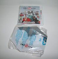 Disney Infinity 1.0 Game & Wireless Portal Base Nintendo 3ds Toy Box Challenge