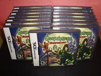 Goosebumps Horrorland Nintendo Ds 2008 / Mint Condition Lite Dsi Xl 2ds 3ds