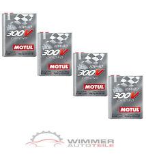 4x 2 Liter MOTUL 300V CHRONO 10W40 Motoröl Rennsportöl vollsynthetisch Öl ESTER