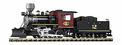PIKO G SCALE C&S MOGUL LOCOMOTIVE WITH suono   BN   38224
