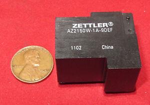American-Zettler-9V-DC-Miniature-Power-Relay-AZ2150W-1A-9DEF-30A-277V-AC-SPST-D