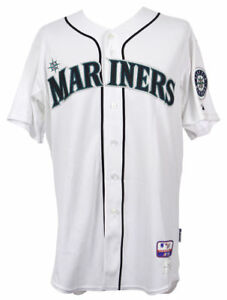 MLB-Authenticated-2008-Raul-Ibanez-Game-Used-Seattle-Mariners-Home-Jersey