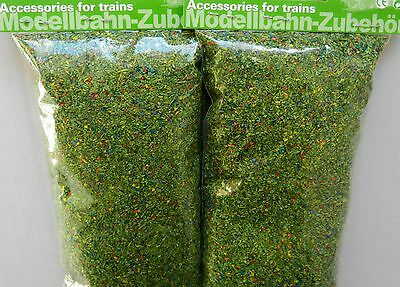 MEADOW GREEN SURFACE COLOURING SCATTER FOR MODEL RAILWAY HO / N / Z GAUGE, NEW