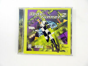 Lode-Runner-2-PC-Computer-Game-CDROM-Jewel-Case-Complete-1998-WIN-95