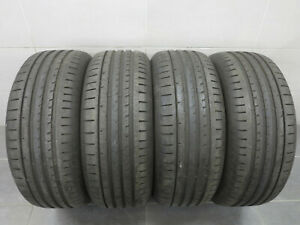 4x-Pneus-D-039-ete-Goodyear-Eagle-f1-Asymmetric-2-255-55-r19-107-W-7-5-mm-1017