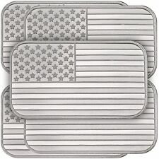 American Flag Bar by SilverTowne 1oz .999 Silver Bar- 5pc