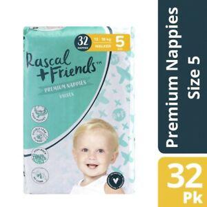 Rascal & Friends Nappies Bulk Walker 32 pack