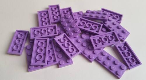 Lego Medium Lavender Plate 2x4 Element 4619516 Part 3020 Qty:25 New