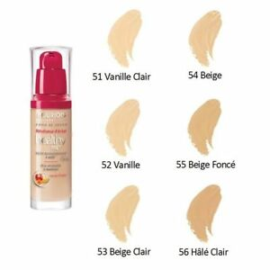 Bourjois Radiance Reveal Healthy Mix Foundation 16h Choose Rare Without Lid Ebay