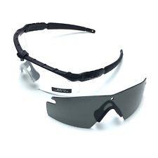 bb20e48bbf36d Authentic Oakley SI Ballistic M Frame 2.0 Military Safety Shooting Glasses  Kit