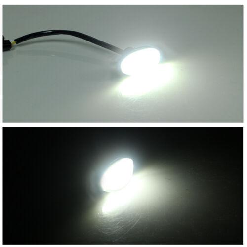For 2010-2014 Ford F-150 Raptor Amber 12 SMD LED Side Marker White Light